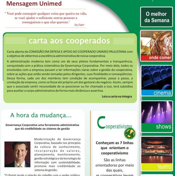 Newsletter para empresas de convênios médicos