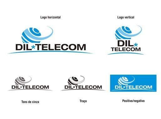 Criação de logo para Dil Telecom